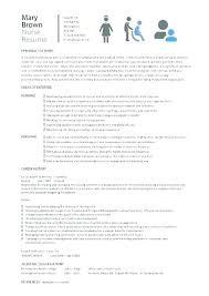 Teacher Assistant Resume Sample Nursery Objectives School Resumes Example Teaching