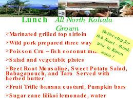 Kohala Pumpkin Patch Hours by North Kohala Food Forum Presentation August 22 09