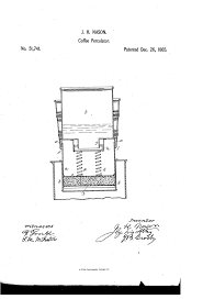 Maryland Science Ctr On Twitter Today In History James H Nason Was Issued The First US Patent For A Coffee Percolator 1865