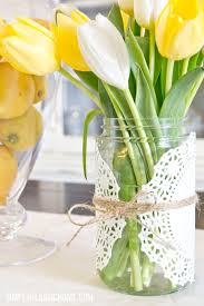 Simply Klassic Home How To Create An Easy Spring Centerpiece