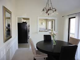 Very Small Kitchen Table Ideas by Black Painted Dining Table Home And Furniture
