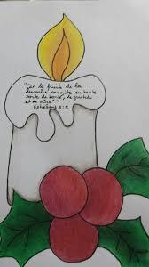 Coloriage Bougie Noel