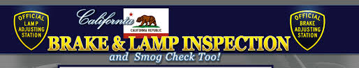 Brake And Lamp Inspection Test by Brake And Lamp Inspection And Smog Check Too California Dmv