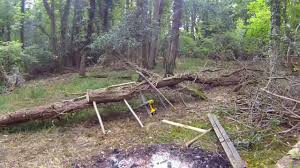 Bush Craft Furniture Making Chair Table Fat Guys In The Woods