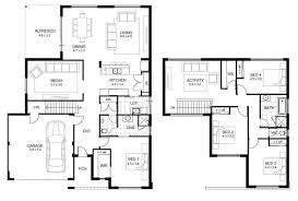 100 Villa Plans And Designs Two Story Homes Sloping Block Storey Upstairs