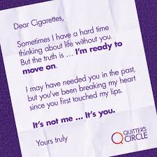 Write Your Way To Smoking Cessation Quitters Circle