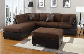 chocolate sectional couch 3 pc set microfiber sofa sectionals ebay