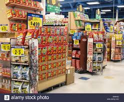 End Aisle Displays Of Specials Smiths Grocery Store Great Falls Montana USA