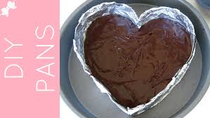 How To Make DIY Cake Pans heart cake pan cheesecake pan mini
