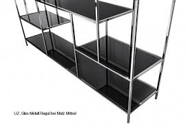 liz designer regal glas metall