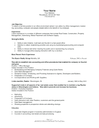 Project Management Resume Objective Marketing Manager Statement Examples Senior Position Communications Junior