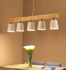großhandel moderne pendelleuchten holz led küchenbeleuchtung led le esszimmer hängende deckenleuchten makaron japanische beleuchtungsvorrichtungen