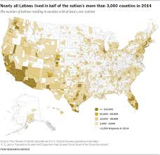 South Continues To Lead In Hispanic Population Growth But Three Fastest Growing Counties Are North Dakota