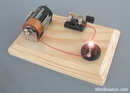 light bulb light bulb science project push the button on the left