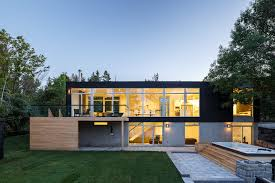 104 River Side House Modern Side Home By Christopher Simmonds Architect Celebrates Landscape