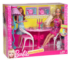 Barbie Fashion Living Room Set by Barbie Glam Dining Room