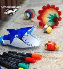 Shark PLastic Bottle Game