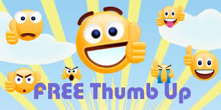 Free Thumbs Up Emoji Sticker Apk Screenshot