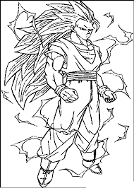 Dragon Ball Z Coloring Pages 5