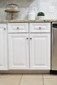 How to paint your kitchen cabinets for a smooth painted finish