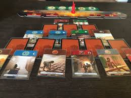 Can You Make A Functional Two Player Version Of The Modern Classic Card Drafting Game 7 Wonders Duel Proves And Is Not Only