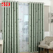 Material For Curtains And Blinds by Aliexpress Com Buy Linen Birds Blackout Curtains For Living Room