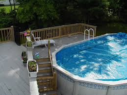 Pool Inspiring Backyard Landscaping Design And Decoration Using ... Decorating Attractive Above Ground Pool Deck For Enjoyable Home Good Picture Of Backyard Landscaping Decoration Using White Latest Ideas On Design Inspiring And 40 Uniquely Awesome Pools With Decks Pools Beautiful Oval Designs Gardens Geek Modern Image Solid Above Ground Pool Landscaping Ideas Swimming Spa Best And Emerson