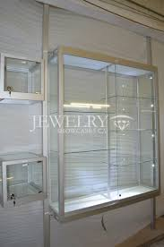 Jewelry Wall Mounted Display Cases