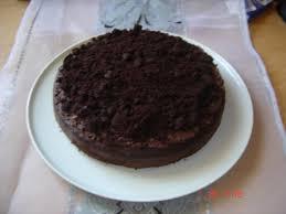 schwarzer krümelkuchen