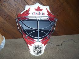 Molson Canadian Goalie NHL Hockey Mask light up sign