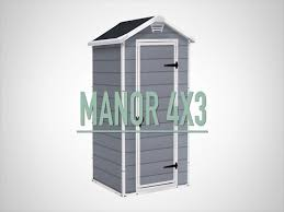 Menards Metal Storage Sheds by Keter Manor 4 U0027 X 3 U0027 Shed At Menards