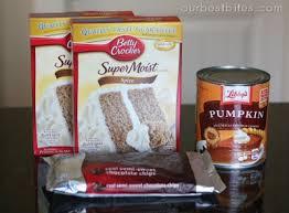Libbys Pumpkin Muffins Cake Mix by Easy Pumpkin Chocolate Chip Muffins