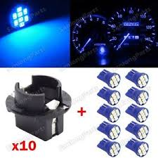 10 t10 blue pc194 led bulb instrument panel cluster dash light