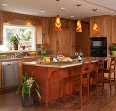 kitchens traditional style kitchen with wood kitchen island feat