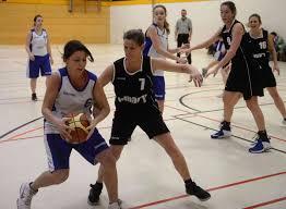 Basketball Damen Der SpVgg Kessel Gegen Tabellenzweiten