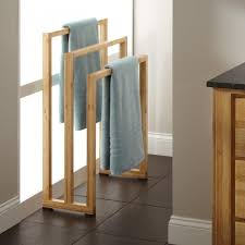 Bathroom Towel Bar Height by Wooden Towel Holders For Bathrooms Home Design Ideas