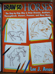 Draw 50 Horses Book 1984 Lee Ames How To