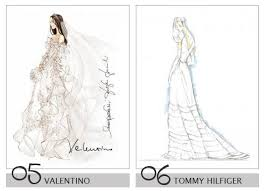 Drawn Wedding Dress Project Runway 1