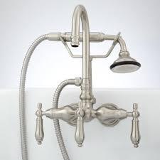 Brushed Nickel Bathroom Faucets Delta by Delta Tub Faucet Delta Valdosta Spotshield Brushed Nickel 1handle