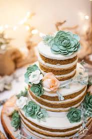 Probably My Favourite Use For These Pretty Plants Succulents On Wedding Cakes