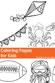 Printable Coloring Pages For Kids My Love Them And There Are Lots Of