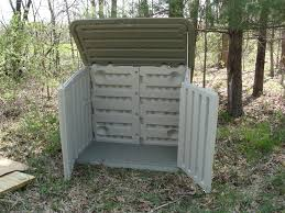 Rubbermaid Slide Lid Storage Shed Shelves by Rubbermaid Garden Shed Home Outdoor Decoration
