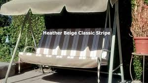 Fred Meyer Patio Furniture Covers by Patio Swing Cushions Seat Support And Canopy Fabric Replacement