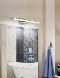led spiegelleuchte badezimmer nickel m weiss tabiano l 60 5 h 7cm