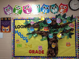 Pumpkin Patch Bulletin Board Sayings by Back To Bulletin Board Ideas Look Hooo U0027s In 3rd Grade