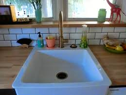 Delta Trinsic Kitchen Faucet Champagne Bronze by A Lovely Little Life July 2014