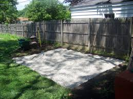 Diy Pea Gravel Patio Ideas by How To Build Pea Gravel Patio Pea Gravel Patio And Some