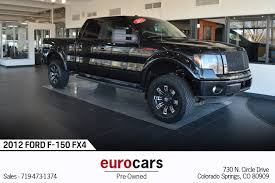 2012 Ford F-150 FX4 Stock # E1079A For Sale Near Colorado Springs ...