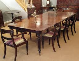 Regency Dining Table, Antique Dining Table, Mahogany Dining Table ...
