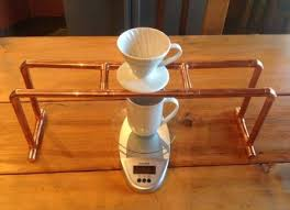 Yesterday I Tried My Hand At Making A Pour Over Brewing Stand For Hario V60 01 And Came Up With This